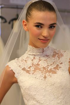 Oscar de la Renta Bridal 2013 61 by rachel.photo, via Flickr