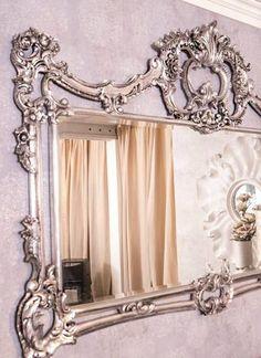 En unik og trendy nettbutikk som setter pris på vakre og unike ting Mirror, Chic, Home Decor, Shabby Chic, Elegant, Classy, Interior Design, Home Interior Design, Mirrors