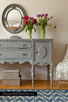 Antic&Chic. Decoración Vintage y Eco Chic: [Get the look] La versatilidad del aparador o buffet vintage