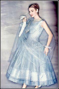 Elsa Martinelli in Christian Dior's ankle length full-skir… | Flickr