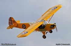 Piper J-3C-65 Cub - F-PPHM. Cordier Pascal. St-Quentin Roupy - LFOW 26.08.2012.