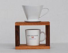 Coffee Drip Stand por MeriwetherOfMontana en Etsy