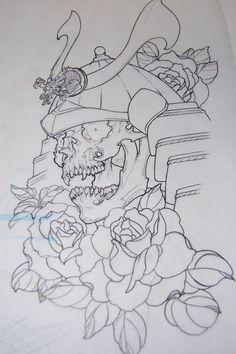 Resultado de imagen para japanese oni tattoo art