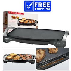 George Foreman Hot Zone Sear & Griddle $49.99 www.1crazydeal.com