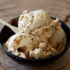 must try brown sugar custard ice cream (secret ingredient is milk powder) loaded with homemade butter pecan brittle