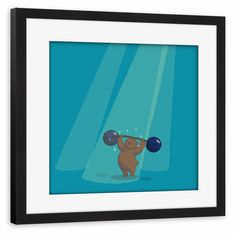 Pixel art illustration - ArtboxOne - Tazzina - Circus Bear