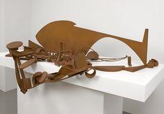 "Anthony Caro, Table Piece Y-94 ""Glacier""  Art Experience NYC  www.artexperiencenyc.com"