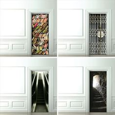 Door wallpaper - AWESOME!