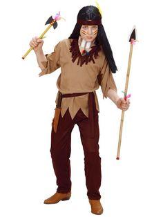 Fastelavnskostume Indianer drengekostume. Pris kr. 155