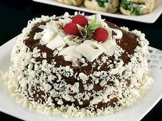 Çikolatalı Şerit Pasta Tarifi - Lezzet