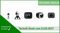 Technik-Deals Video über 5 tolle 360-Grad-Actioncams #technikdeals #video #360gradactioncams