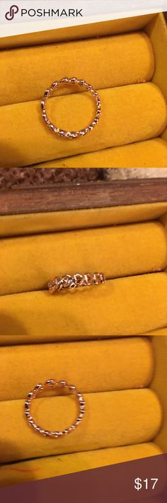 Small heart ring Small gold heart pinky ring sears Jewelry Rings