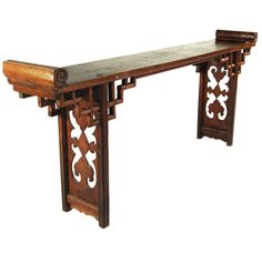 Chinese Altar Table | From a unique collection of antique and modern tables at https://www.1stdibs.com/furniture/tables/tables/ $5980