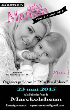 Election Miss Maman Pays d'ALSACE 2015