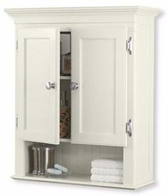 Fairmont Bathroom Wall Mounted 3-Shelves Medicine Cabinet Storage Organizer, New #FairmontBathroomWall
