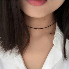 96936d11835d Hot New Torques Bijoux Puro Collar de Cordón De Cuero Trenzado Negro Maxi  Collar de la