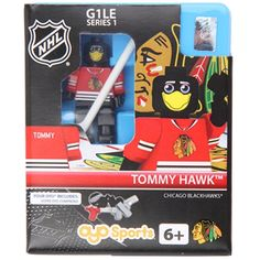 Chicago Blackhawks Tommy Hawk The Mascot Player Minifigure