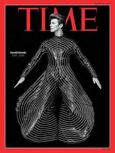 David Bowie - Time Magazine Cover - January 2016 - Mini Print