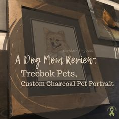 A custom charcoal pet portrait would make a PAWsome gift for the pet parents in your life! | Read my full Dog Mom Review of Treebok Pets, a small, woman-owned business located in Georgia, USA, at Not So Mommy..., a childless dog mom blog. | Pet Portrait | Pet Portraits | Custom Pet Portrait | Custom Pet Portraits | Dog Mom | Dog Moms | Dog Mom Blog | Dog Mom Blogs | Dog Lover | Dog Lovers | Review | Reviews | Fur Mom | Fur Moms | Fur Mama | Fur Mamas | Fur Mommy | Dog Mommy | Pet Parent | Blog Cute Puppy Photos, National Pet Day, Georgia Usa, Mom Blogs, Dog Mom, Pet Portraits, Cute Puppies, Fur Babies, Dog Lovers