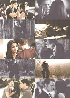 best Stelena moments. Though I am team Delena, not because Damon deserves her more, it's that they Delena just works better.