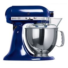 Colbalt Blue KitchenAid... I so want this, in this exact color.