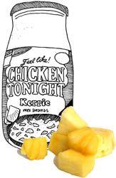 """Koken met Karin """"Chicken tonight"""" Kip-kerrie met ananas."""