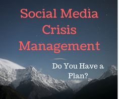 A crisis on social media can happen in an instant. Are you prepared with a strategic crisis management plan? http://nismonline.org/social-media-crisis-management-is-your-organization-prepared/