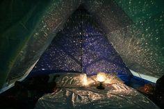 Tent light: Trippy
