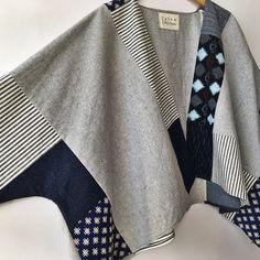 "245 likerklikk, 11 kommentarer – Susan Eastman (@susaneastmanstudio) på Instagram: ""Sophie Kimono Coat / like a shawl with arms. hemp/organic cotton, japanese cotton, and a vintage…"""