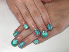 Mermaid nails by Tanya potter