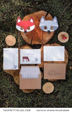 How To Throw A Wild & Free Kids Forest Party   Photographers: Wynand van der Merwe Photography   Concept and Styling: Pudding and Pie   Stationery and Invitations: Chrystalace    http://www.theprettyblog.com/family/wild-free-kids-forest-party-may/