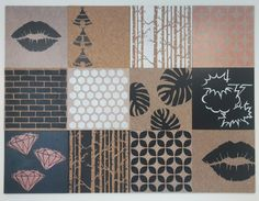 Selection of designer pinboards from Pinned