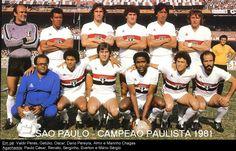 SPFC - Campeão Paulista 1981