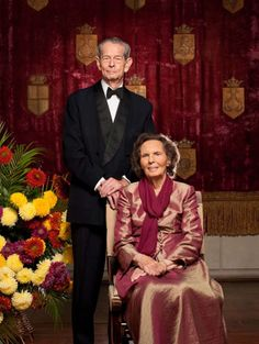 King Michael I of Romania and his wife Queen Anne, The Queen Consort of Romania, Princess of Bourbon-Parma Queen Mary, Queen Anne, King Queen, Reine Victoria, Queen Victoria, Casa Real, Michael I Of Romania, History Of Romania, Romanian Royal Family