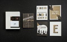 W|W Occasional Cards / Scott Naauao