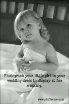 @Lora-Kent Reed --- See this is why I'm keeping it!!  What to do with your wedding dress after you wear it