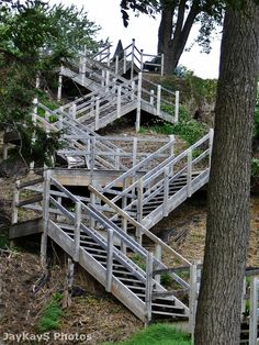 Stairs and more Stairs