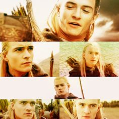 Legolas.  I'm sorry, I've got a thing for men with long hair... No I'm not sorry....