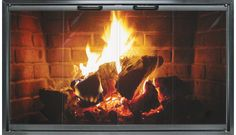 The Special Z - offers a classic look at an affordable price. The unit is designed from anodized aluminum and features bi-fold full swing trackless doors. Available only as an inside fit, the unit incorporates a 7/8″ wide frame. Air space is allowed from the top, sides or bottom providing the same air flow as the zero clearance fireplace.