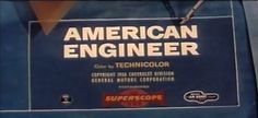 🎥 American Engineer (1956) Product placement promo produced by The Jam Handy Organization for #Chevrolet  Part 1/4: https://youtu.be/NgBWugC1M0w