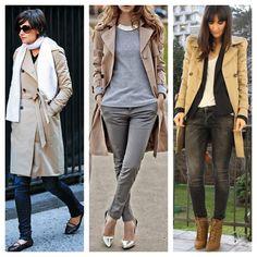 como usar trench coat - blog de moda