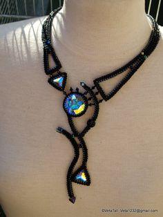 Veta's Art with Beads: The comet / Комета