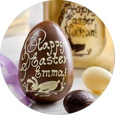 You can customize your very own Easter Egg for your family and friends, share the joy and have a wonderful Easter:) @ Old Firehall Confectionery