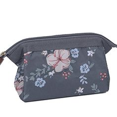 Makeup Bag/Travel Cute Cosmetic Pouch Storage/Brush Holder Toiletry Kit Fashion Women and Girl Waterproof Jewelry Organizer with YKK Zipper Lipstick Pencil Carry Case Portable Cube Purse (Deep Grey). For product & price info go to:  https://beautyworld.today/products/makeup-bag-travel-cute-cosmetic-pouch-storage-brush-holder-toiletry-kit-fashion-women-and-girl-waterproof-jewelry-organizer-with-ykk-zipper-lipstick-pencil-carry-case-portable-cube-purse-deep-grey/