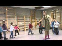 Loopvormen-spel voor kleuters, kinderen (grote motoriek)