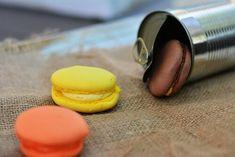 Food photography, macarons
