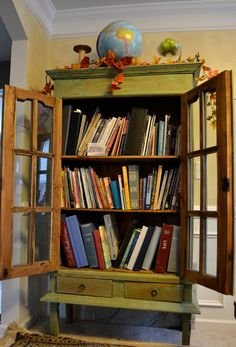 revolving 3 tier antique bookcases in the home pinterest antique bookcase and antique furniture - Antique Bookshelves