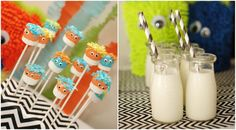 Little Monster Birthday Party {Guest Feature} — Celebrations at Home