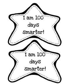 I am 100 days smarter! - 100 Days of School 💯 100th Day Of School Crafts, 100 Days Of School, School Holidays, School Projects, School Stuff, Art Projects, Classroom Crafts, Kindergarten Classroom, Classroom Activities