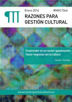 Razones para Gestión Cultural. Ene. 2016
